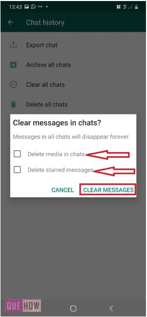 Clear Chat in WhatsApp-13