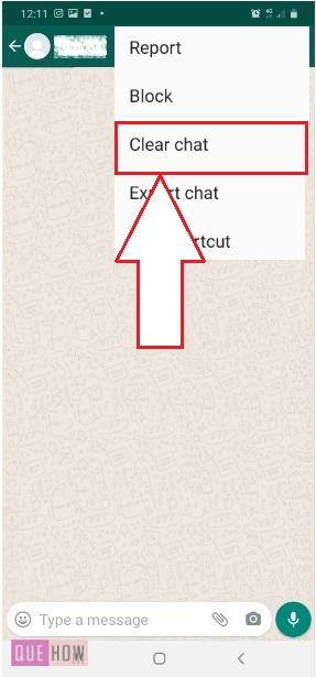 Clear Chat in WhatsApp-5