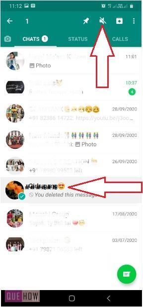 Mute WhatsApp Group-3
