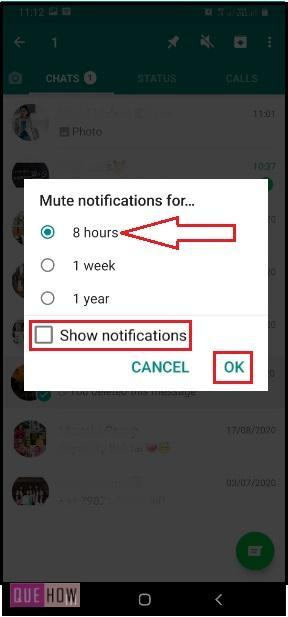 Mute WhatsApp Group-4