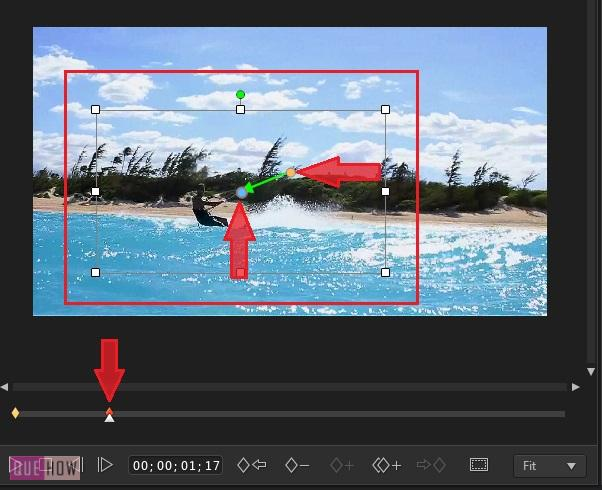 Crop and Zoom Video in Power Director -6