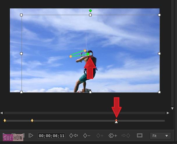 Crop and Zoom Video in Power Director -7