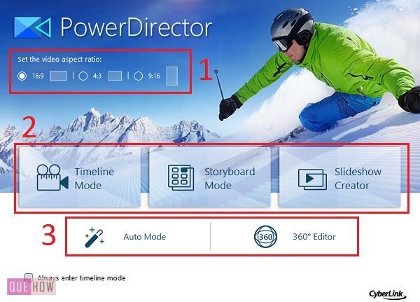 Edit Video in PowerDirector-1
