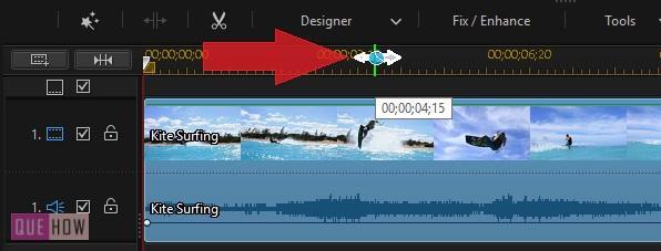 Edit Video in PowerDirector-10