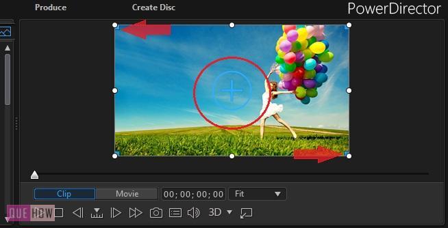 Edit Video in PowerDirector-11
