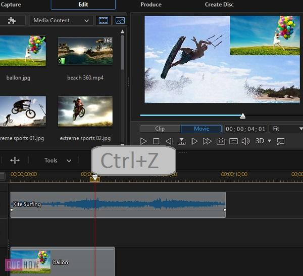 Edit Video in PowerDirector-12