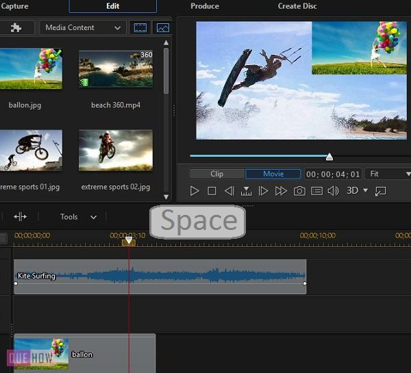 Edit Video in PowerDirector-13