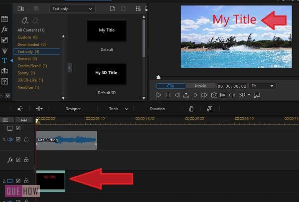 Edit Video in PowerDirector-17