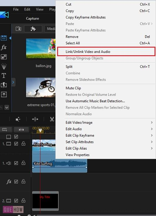 Edit Video in PowerDirector-19