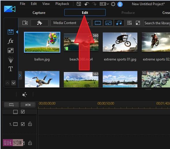 Edit Video in PowerDirector-5