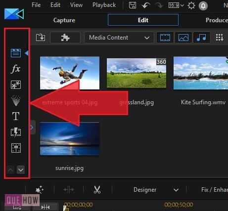 Edit Video in PowerDirector-7