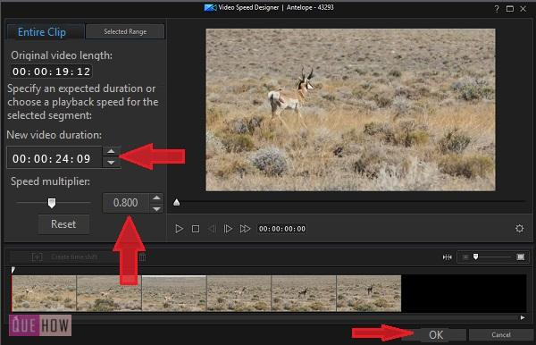 Make Slow Motion Video in PowerDirector-10