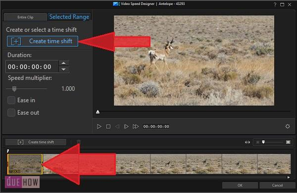 Make Slow Motion Video in PowerDirector-12