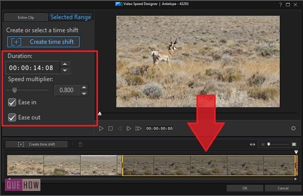 Make Slow Motion Video in PowerDirector-13