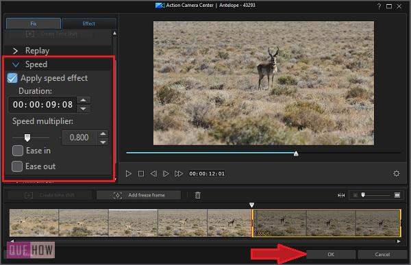 Make Slow Motion Video in PowerDirector-17