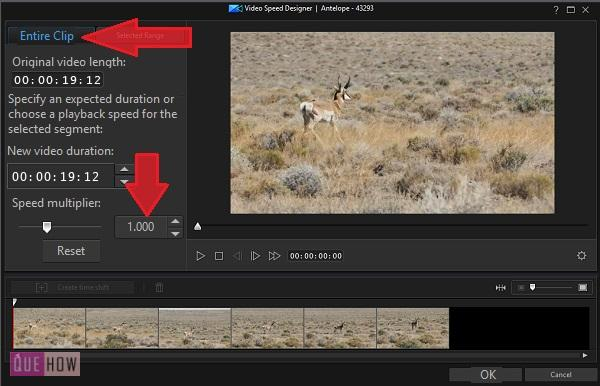 Make Slow Motion Video in PowerDirector-9