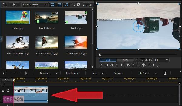 Rotate Video in Power Director-1