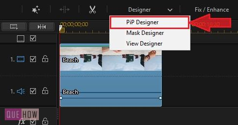 Rotate Video in Power Director-10