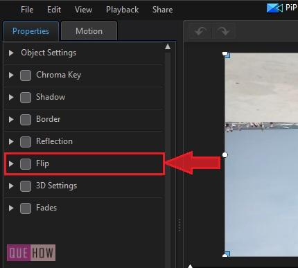 Rotate Video in Power Director-12