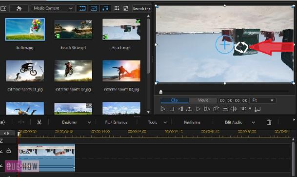 Rotate Video in Power Director-2