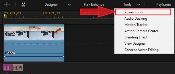 Rotate Video in Power Director-5