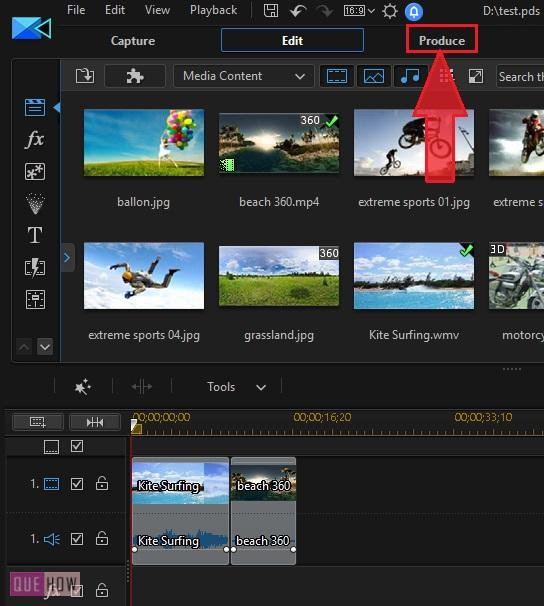 Save Video in Power Director-10