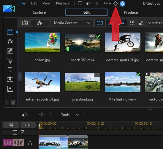 Save Video in Power Director-6