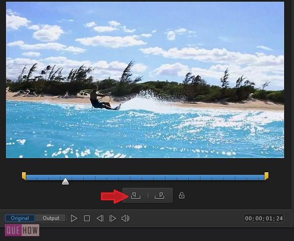 Trim Videos in Power Director-12