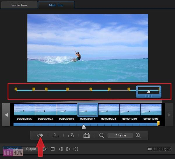 Trim Videos in Power Director-17