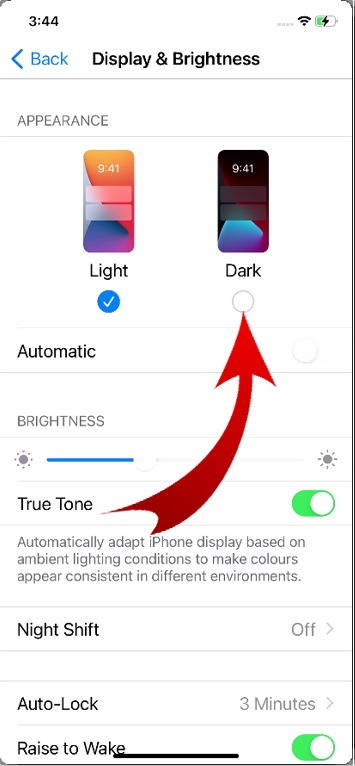 How to Get Dark Mode on iPhone-3