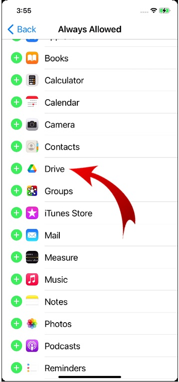 Lock Apps on iPhone-17