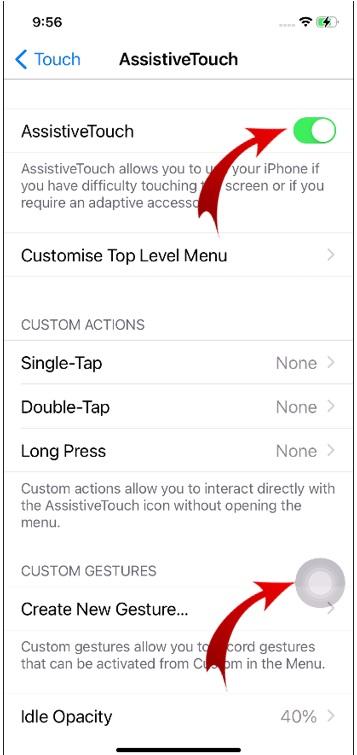 Take screenshot on iPhone method-2-5