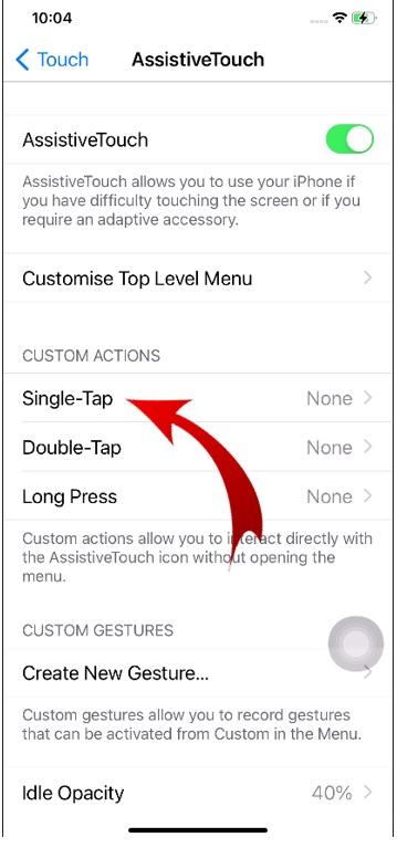 Take screenshot on iPhone method-2-6