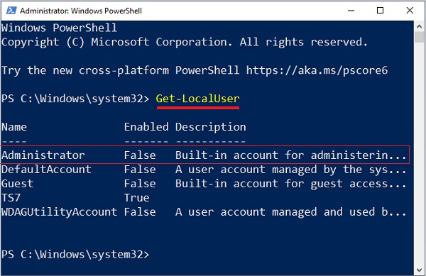 Change Administrator Name in Windows 10 - 11