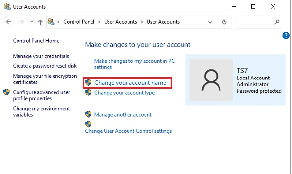 Change Administrator Name in Windows 10 - 19