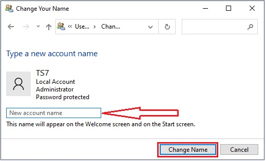Change Administrator Name in Windows 10 - 20