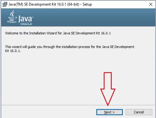 Download Java in Windows 10 -10