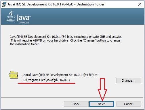 Download Java in Windows 10 -11