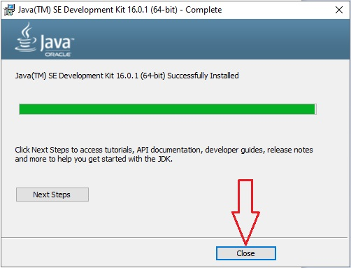 Download Java in Windows 10 -12