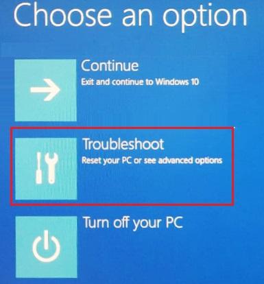Enter Bios in Windows 10 - 6