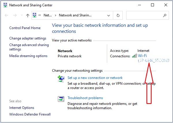 check Wifi Password in Windows 10 - 4