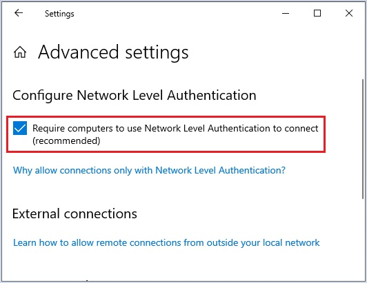 Enable Remote Desktop in Windows- 6