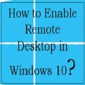 Enable Remote Desktop in Windows using Control Panel -feature image