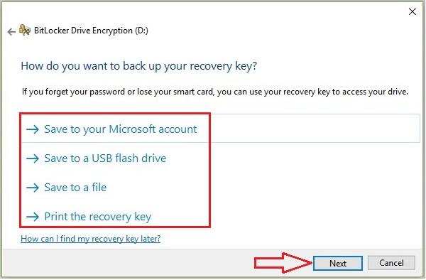 Lock Drive in Windows 10 -5