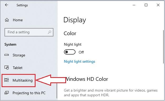 Split Screen in Windows 10 -3