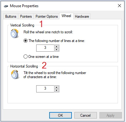 Change Mouse Settings in Windows 10 -12