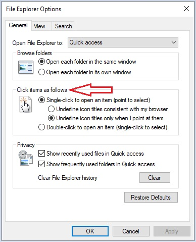 Change Mouse Settings in Windows 10 -13