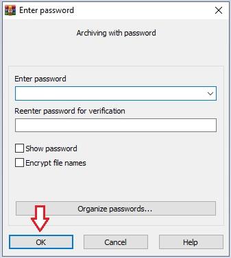 Open RAR file in Windows 10 -3