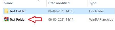 Open RAR file in Windows 10 -4.1