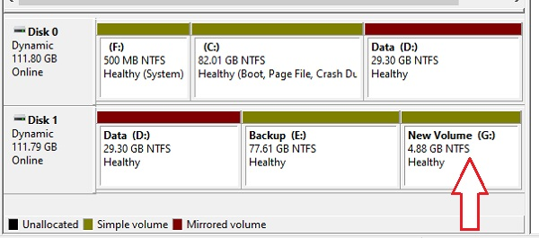 Partition Hard drive in Windows 10 - 13